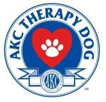 AKC Therapy Dog Emblem