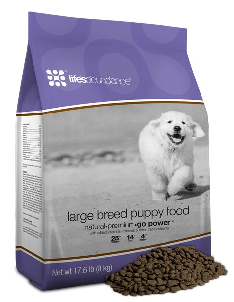 Life's Abundance Large Breed Puppy Food