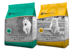 Grain Free Dog and Cat Food Life's Abundance Our premium foods PLUS the additional nutrients provided by our wellness supplement for dogs. This combination provides full spectrum nutrition