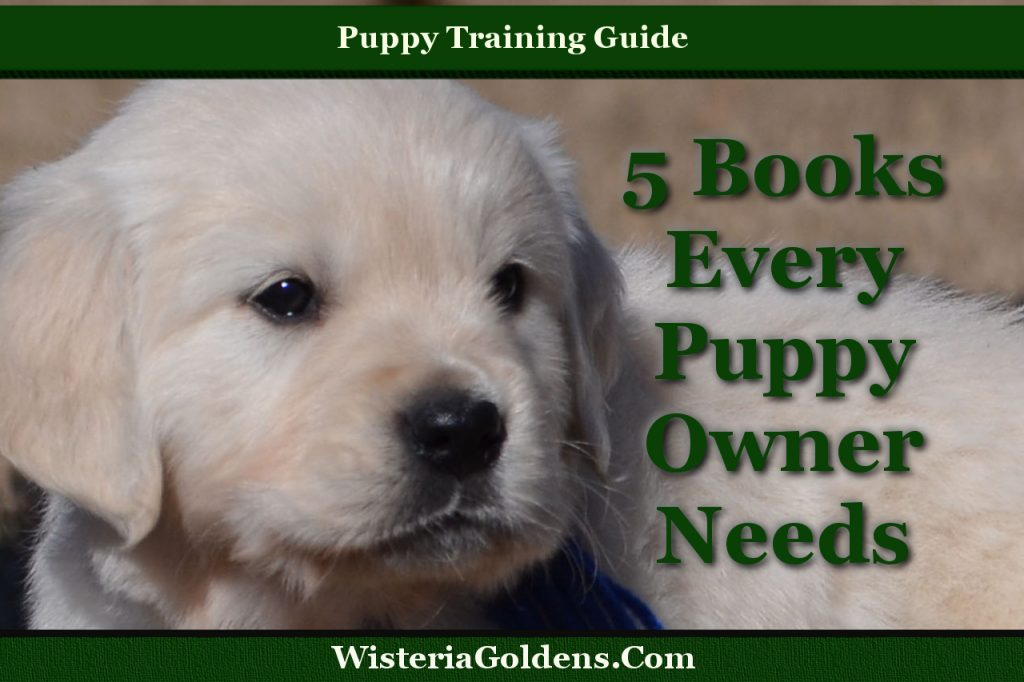 5 Books every puppy owner needs