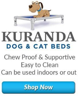 Shop Kuranda Dog & Cat Beds recommended by Wisteria Goldens for English Cream Golden Retriever puppies and adult dogs.